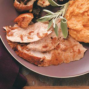 Chili-Roasted Turkey Breast