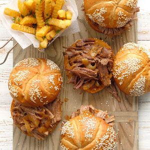 Chipotle Beef Sandwiches