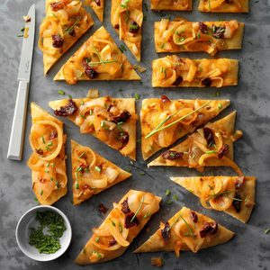Chipotle Focaccia with Garlic-Onion Topping