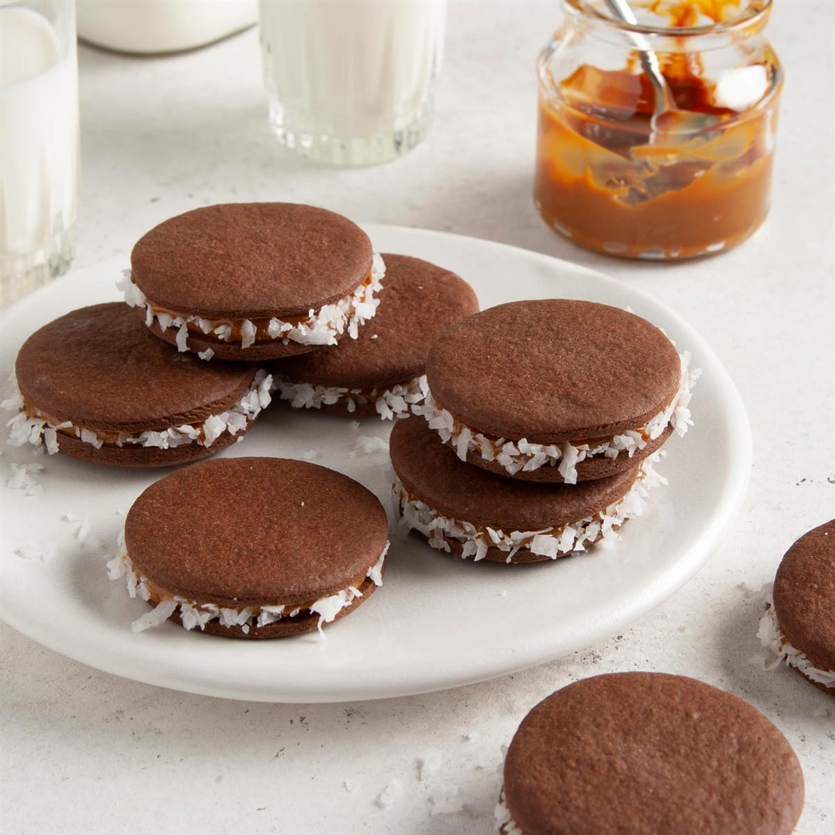 South America: Chocolate Alfajores