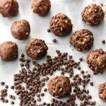 Chocolate Almond Drops