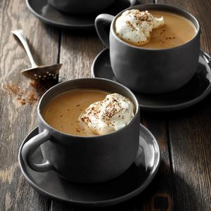 Chocolate-Caramel Rum Coffee