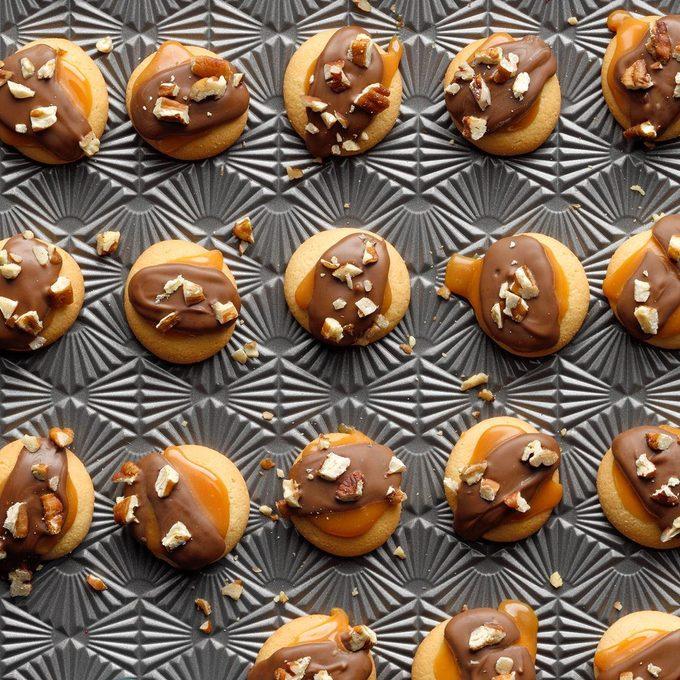Chocolate Caramel Wafers
