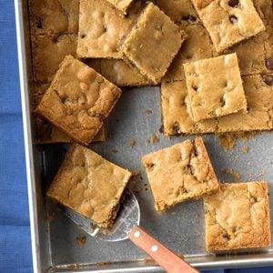 Chocolate Chip Cookie Blondies