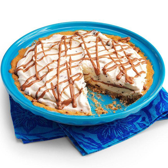 Chocolate Chip Ice Cream Pie