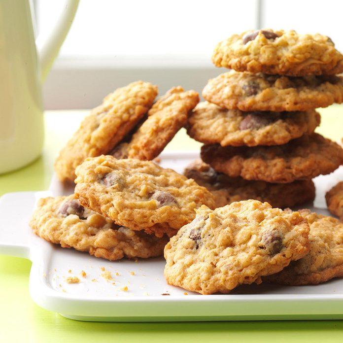 Chocolate-Covered Raisin Cookies