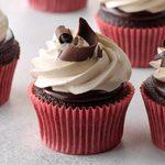 Chocolate Ganache Peanut Butter Cupcakes