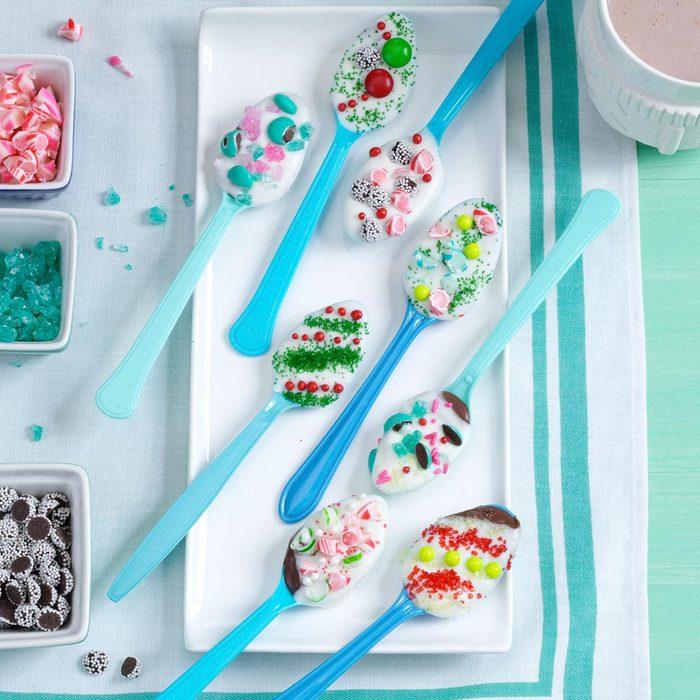 Chocolate-Hazelnut Spoons