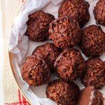 Chocolate Macadamia Macaroons