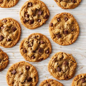 Chocolate Malted Cookies