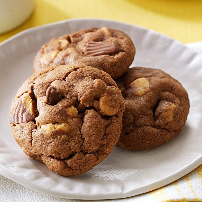 Chocolate-Peanut Butter Cup Cookies