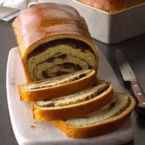 Chocolate Pinwheel Bread