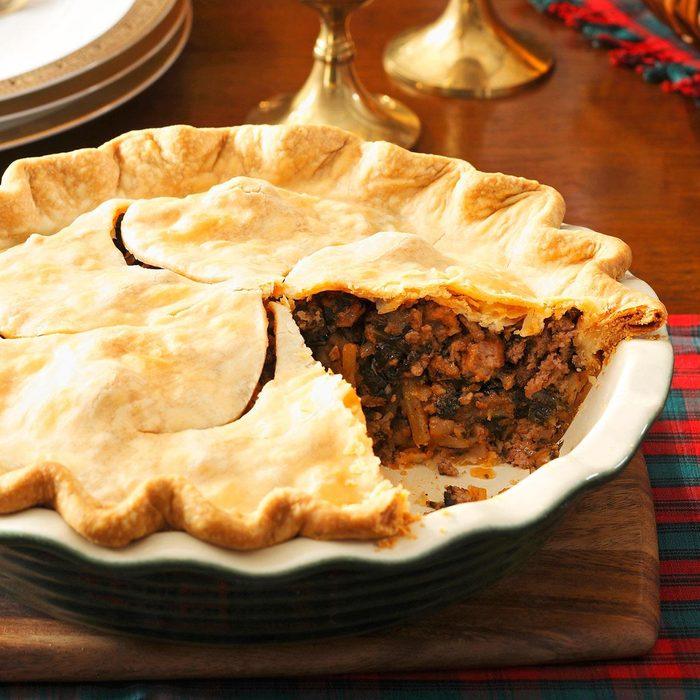 Christmas Eve Meat Pie
