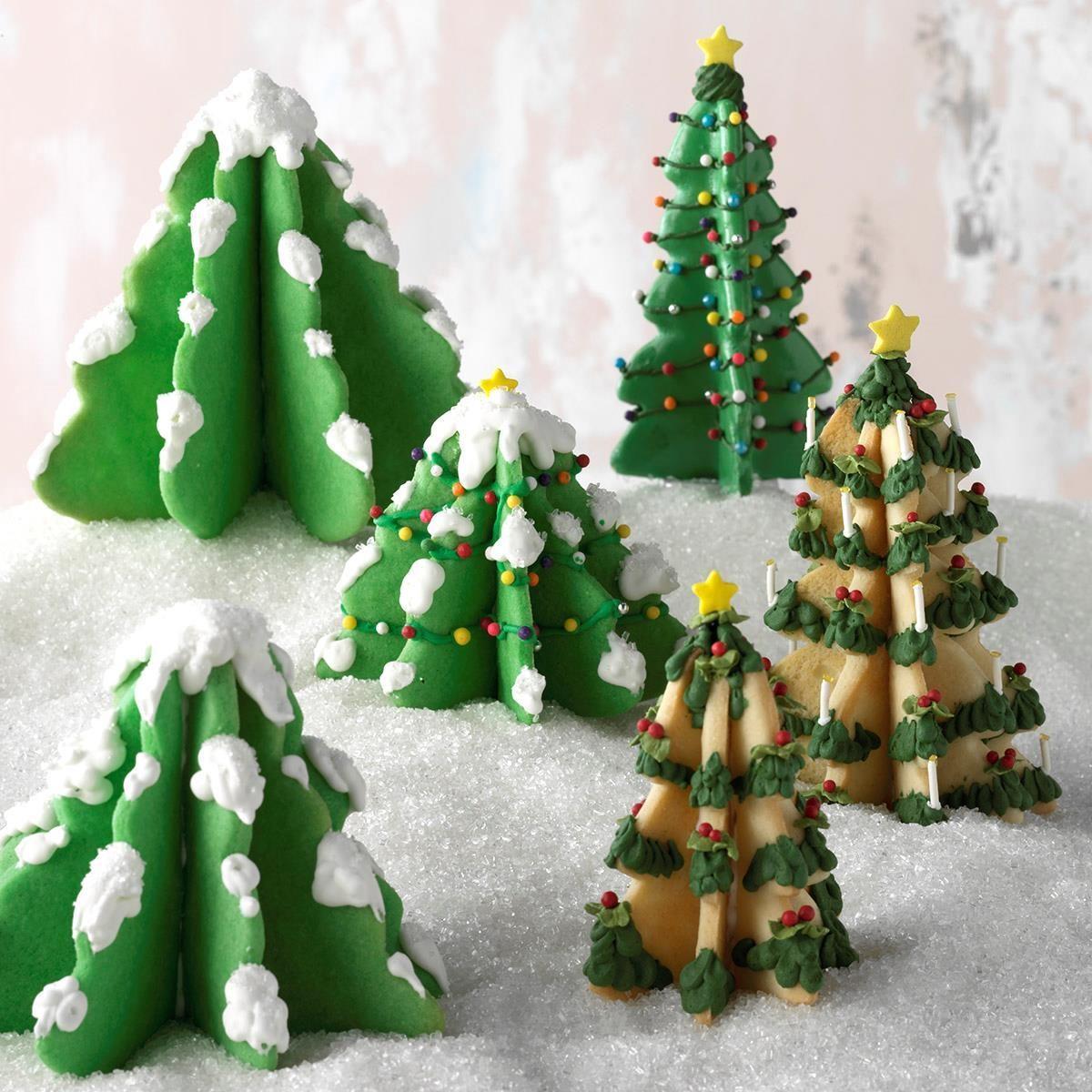 Expert Baker: Christmas Tree Cookies