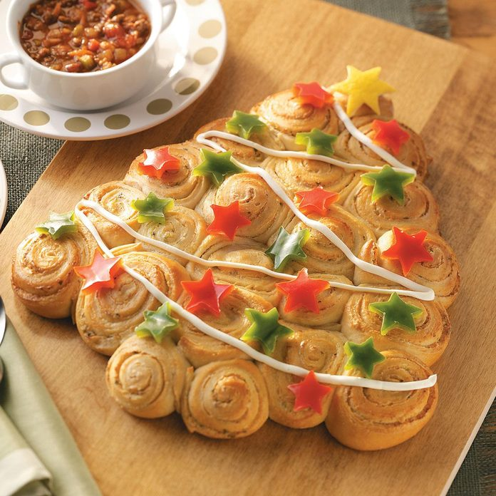 Christmas Tree Savory Rolls