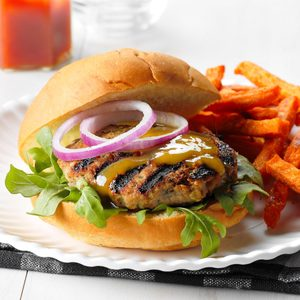Chutney Turkey Burgers