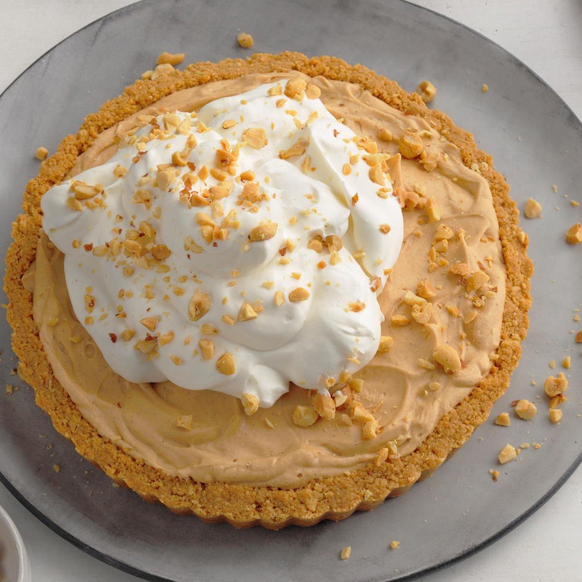 Cinnamon-Caramel Peanut Butter Tart