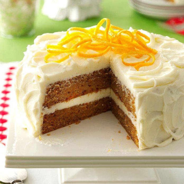 Citrus-Kissed Sweet Potato Cake