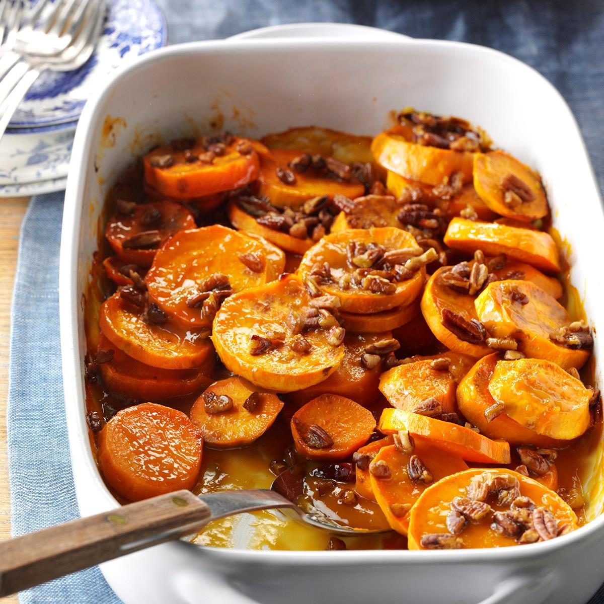 Vegan Citrus Sweet Potatoes