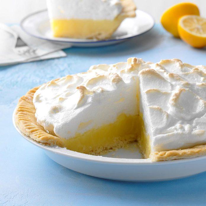 August 15: National Lemon Meringue Pie Day