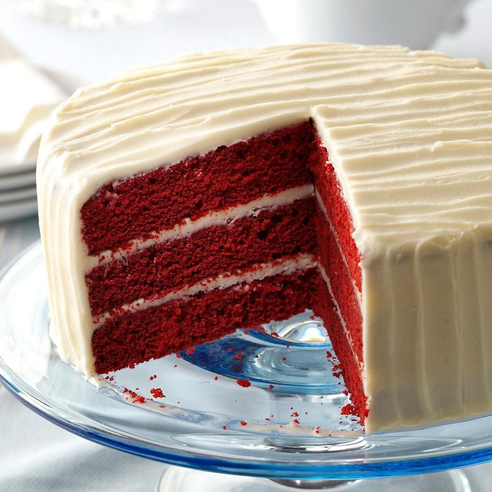 Inspired by: Red Velvet Cake