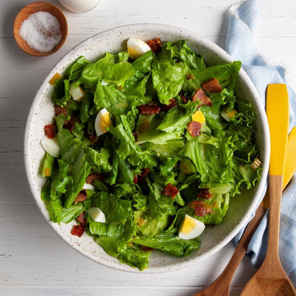 Iowa: Classic Wilted Lettuce Salad
