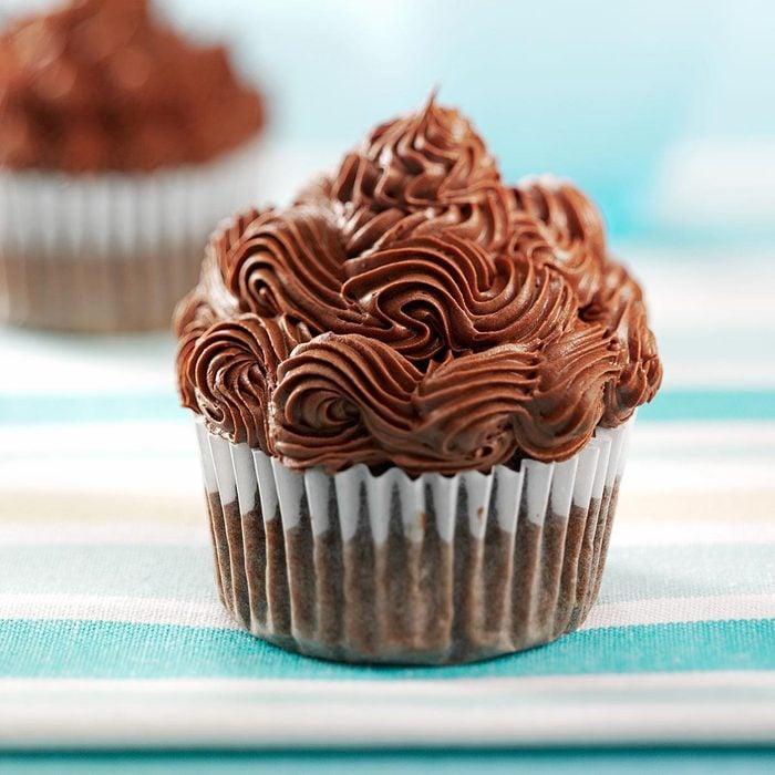 Cocoa Banana Cupcakes