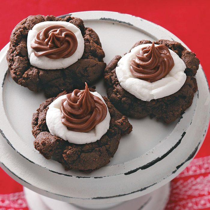 Cocoa/Marshmallow Cookies