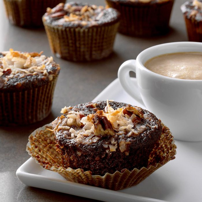 Coconut Chocolate Muffins