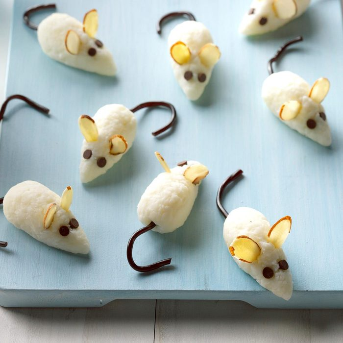 Coconut Christmas Mice
