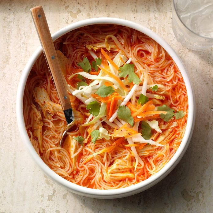 Inspired by: Thai Chicken Soup from Noodles & Company