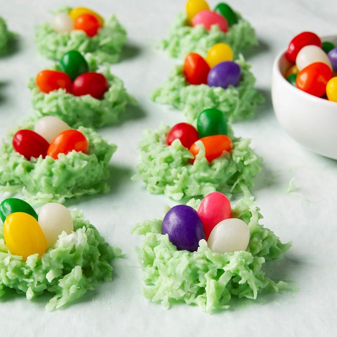 Coconut Egg Nests