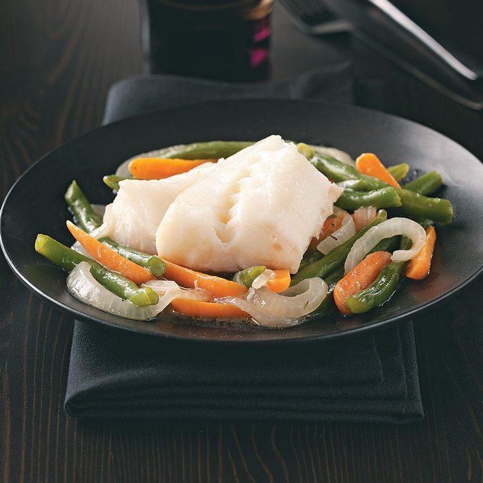Cod & Vegetable Skillet for Two