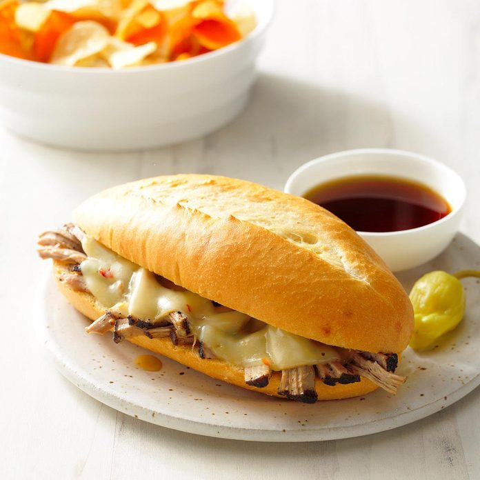 Coffee-Braised Pulled Pork Sandwiches