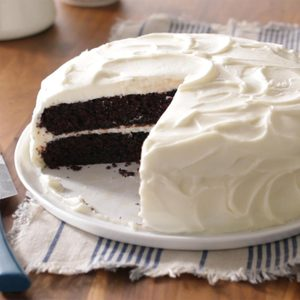 Coffee-Chocolate Cake