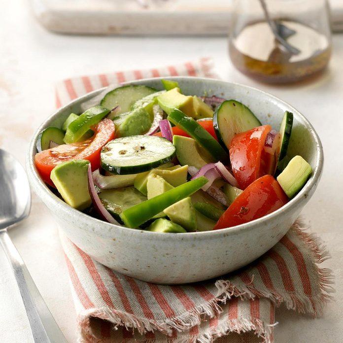 Colorful Avocado Salad
