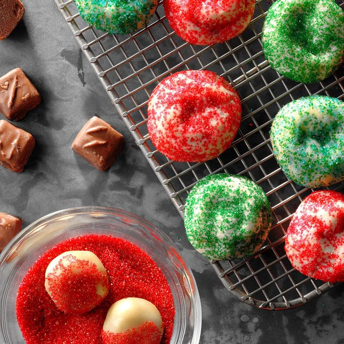 Colorful Candy Bar Cookies