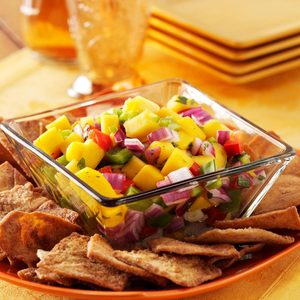 Colorful Mango Salsa
