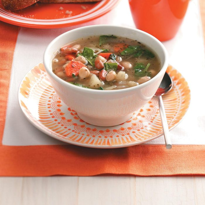 Colorful Three-Bean Soup