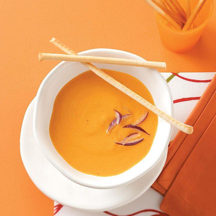 Contest-Winning Cheesy Cauliflower Soup