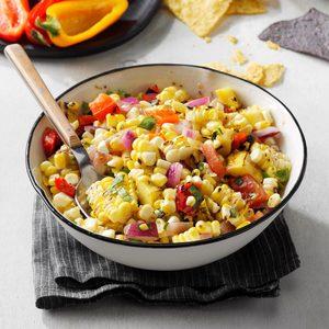 Contest-Winning Grilled Corn Salsa