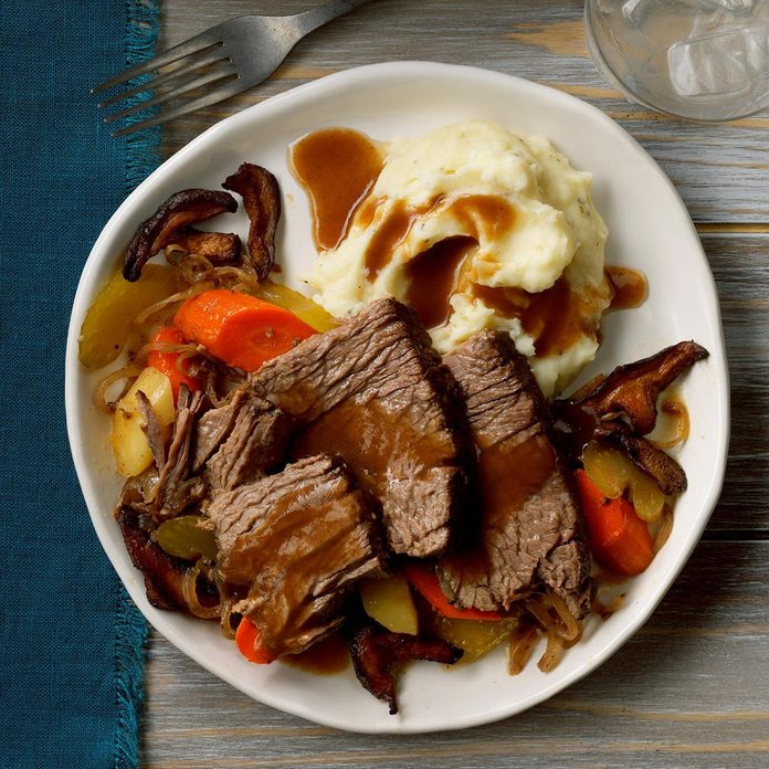 February: Contest-Winning Mushroom Pot Roast