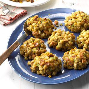 Corn Stuffing Balls