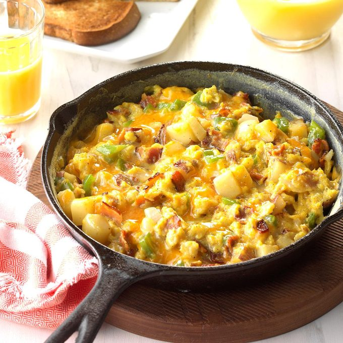 Country-Style Scrambled Eggs