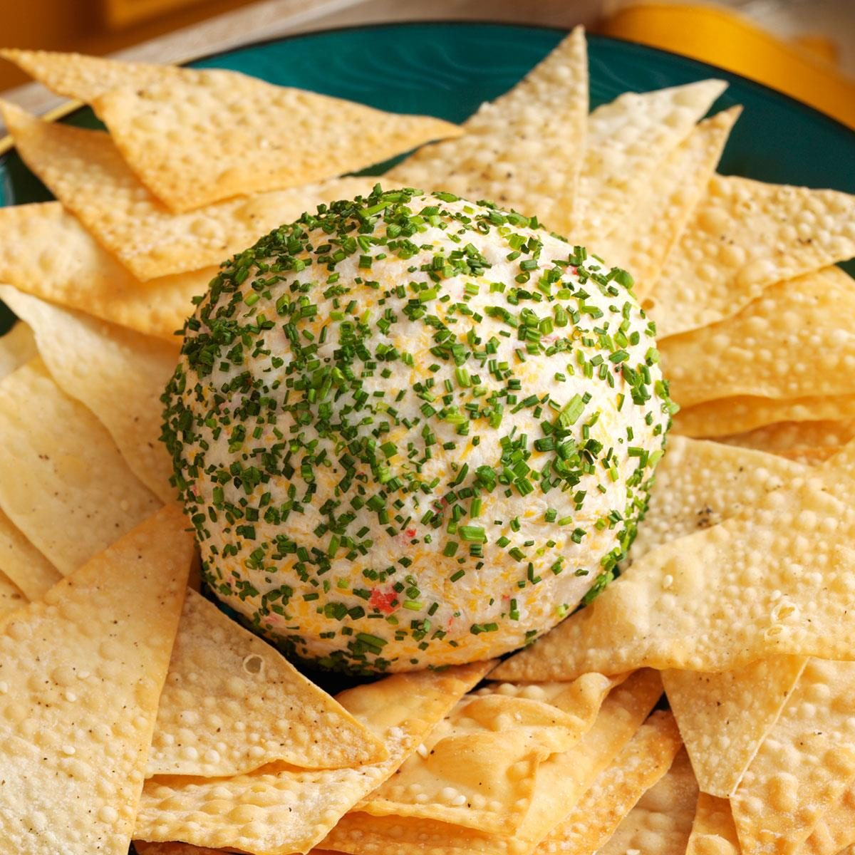 Crab Rangoon Cheese Ball