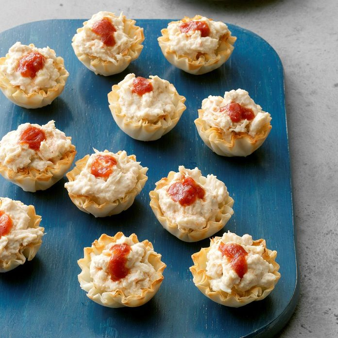 Crab Phyllo Cups