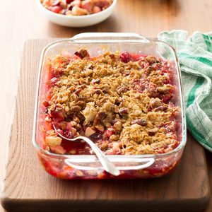 Cran-Apple Pecan Crisp