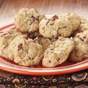 Cran-Orange Oatmeal Cookies