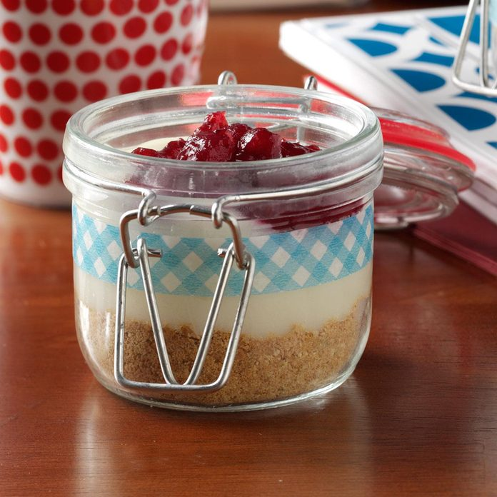 Cran-Orange Pie in a Jar