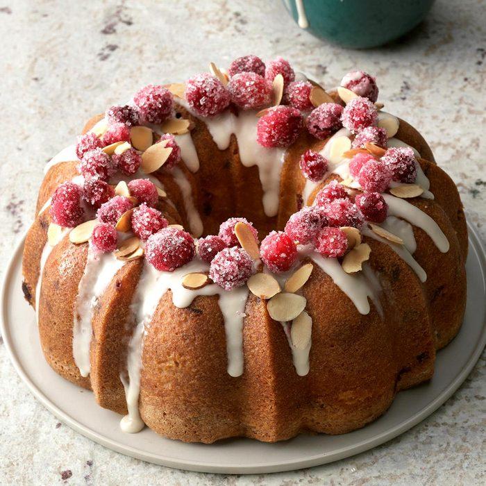 Cranberry-Almond Pound Cake